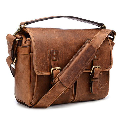 ONA Prince Street Messenger - Antique Cognac