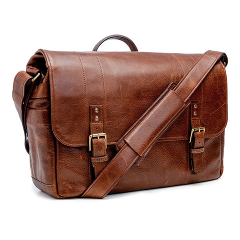 ONA Union Street Messenger Bag - Walnut