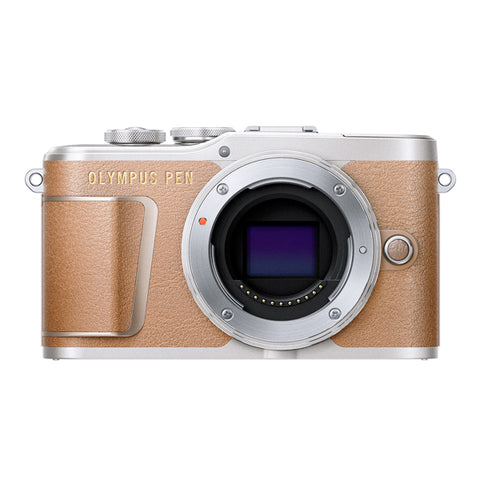 Olympus PEN E-PL9 Body Only - Brown