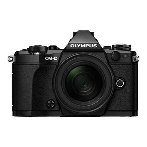 Olympus OM-D E-M5 Mark II Weatherproof Kit with 12-50mm Lens - Black