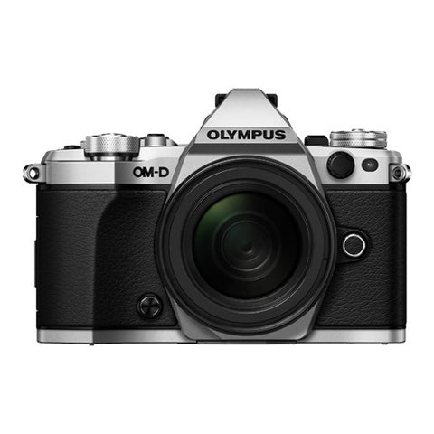 Olympus OM-D E-M5 Mark II Weatherproof Kit with 12-50mm Lens - Silver