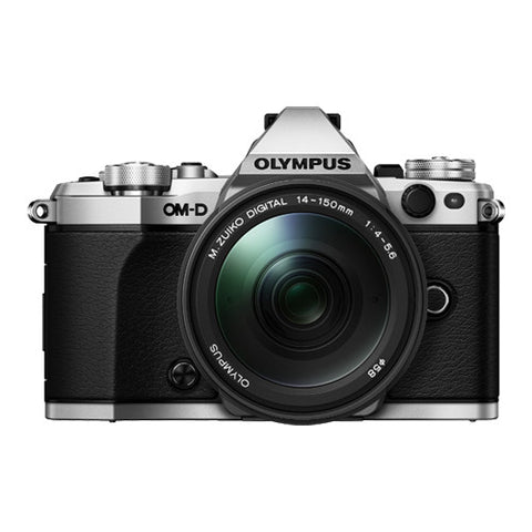Olympus OM-D E-M5 Mark II Adventure Kit with 14-150mm Lens - Silver