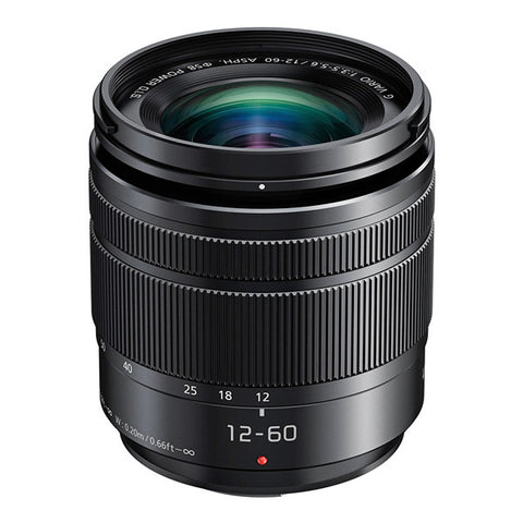 Panasonic LUMIX G VARIO 12-60mm F3.5-5.6 ASPH. POWER O.I.S. Lens