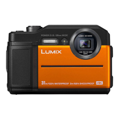 Panasonic LUMIX DC-FT7 Digital Camera - Orange