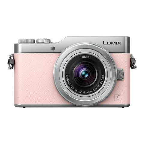 Panasonic LUMIX DC-GX850 Single Lens Kit with 12-32mm Lens - Pink