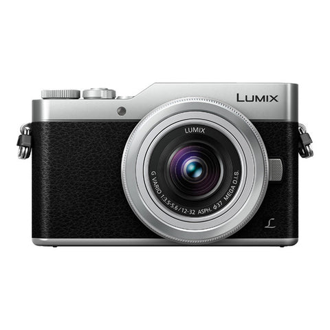 Panasonic LUMIX DC-GX850 Single Lens Kit with 12-32mm Lens - Silver