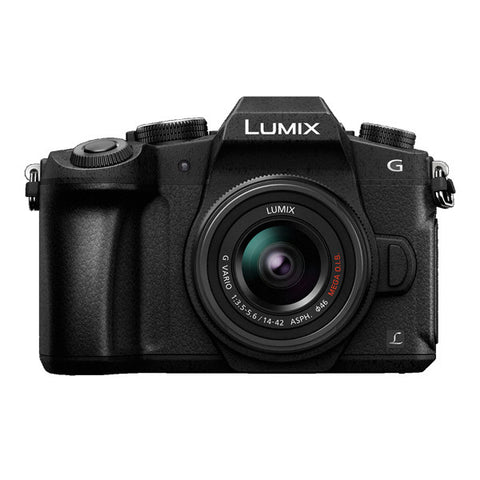 Panasonic LUMIX DMC-G85 Single Lens Kit with 14-42mm Lens - Black