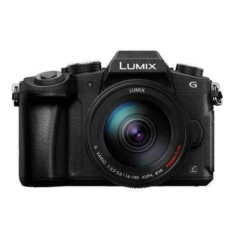 Panasonic LUMIX DMC-G85 Zoom Kit with 14-140mm Lens - Black