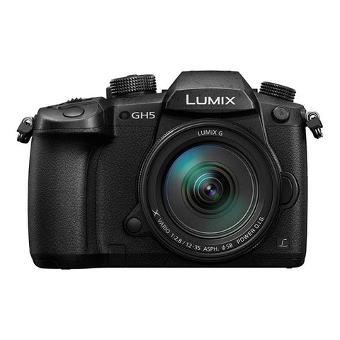 Panasonic LUMIX DMC-GH5 Single Lens Kit with 12-35mm II Lens