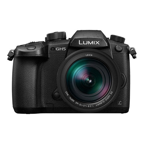 Panasonic LUMIX DMC-GH5 Single Lens Kit with 12-60mm F2.8-4 Lens