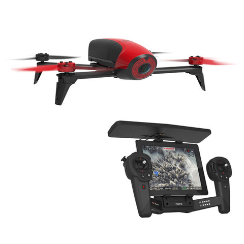 Parrot Bebop 2 Drone with SkyController - Red