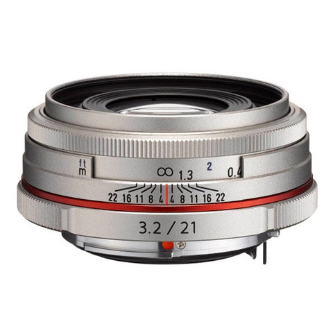 Pentax HD DA 21mm F3.2 AL Limited Lens - Silver