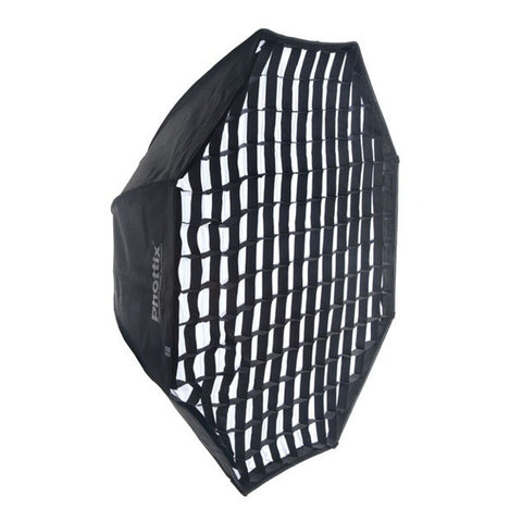 Phottix 2 in 1 Octagon Softbox with Grid - 122cm