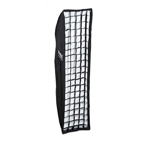 Phottix 2 in 1 Strip Softbox with Grid - 35 x 140cm