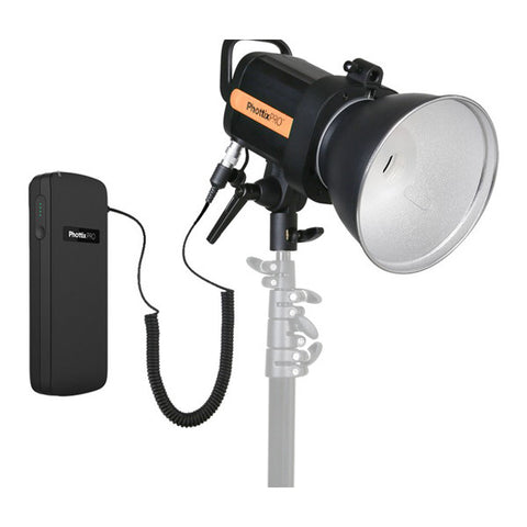 Phottix Indra 360 TTL Studio Light with Battery Pack Kit