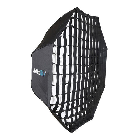 Phottix Pro Easy Up HD Umbrella Octa Softbox with Grid - 120cm