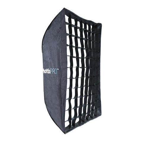 Phottix Pro Easy Up HD Umbrella Softbox with Grid - 60 x 90cm