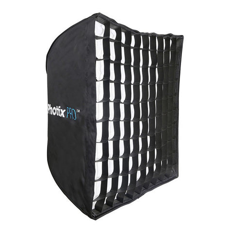 Phottix Pro Easy Up HD Umbrella Softbox with Grid - 70 x 70cm