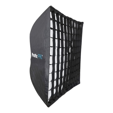 Phottix Pro Easy Up HD Umbrella Softbox with Grid - 90 x 90cm