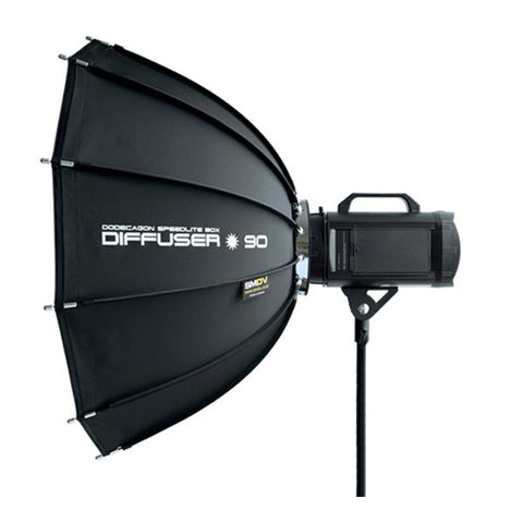 SMDV Dodecagon Softbox Flash Diffuser - 90cm