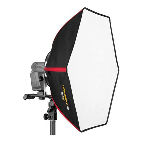 SMDV Hexagonal Softbox Flash Diffuser - 40cm
