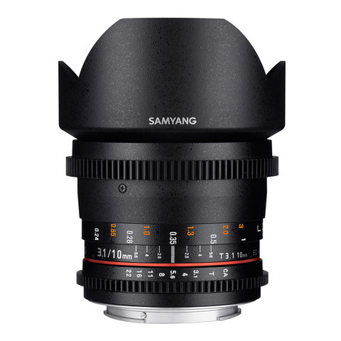 Samyang 10mm T3.1 ED AS NCS VDSLR CS Cine Lens
