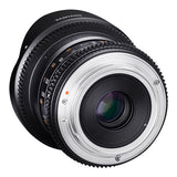 Samyang 12mm T3.1 ED AS NCS VDSLR Fisheye Cine Lens