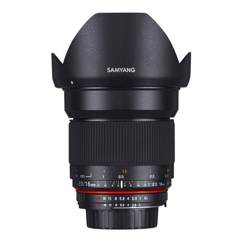 Samyang 16mm F2.0 ED AS UMC CS Lens