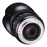 Samyang 21mm T1.5 ED AS UMC CS VDSLR Cine Lens
