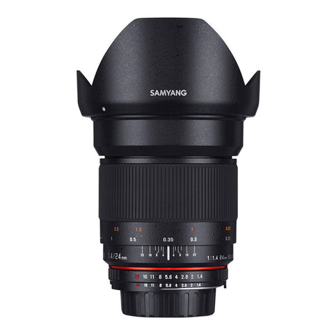 Samyang 24mm F1.4 ED AS IF UMC Lens - Canon Mount