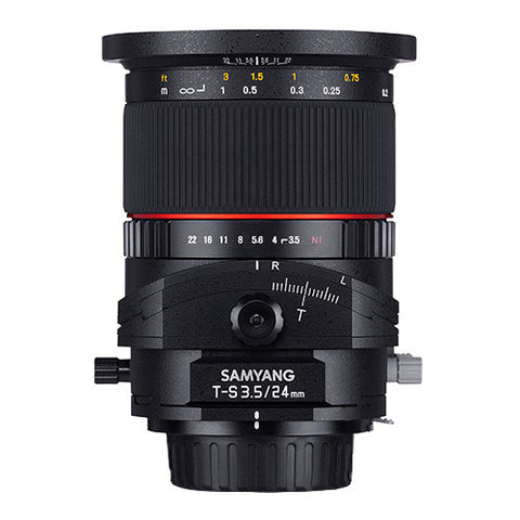 Samyang 24mm F3.5 ED AS UMC Tilt & Shift Lens - Fujifilm X Mount