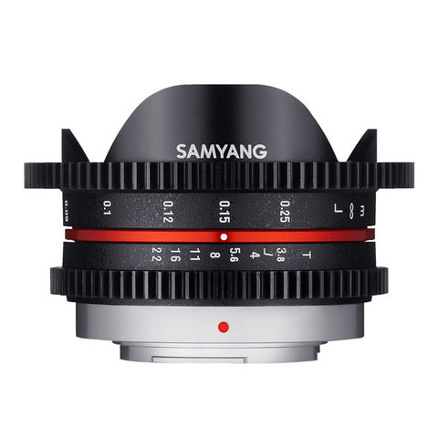 Samyang 7.5mm T3.8 AS ED UMC VDSLR Fisheye Cine Lens