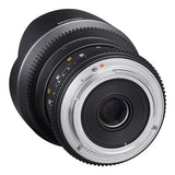Samyang 14mm T3.1 ED AS IF UMC II VDSLR Cine Lens - Micro Four Thirds Mount