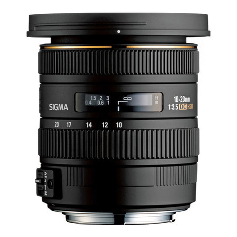 Sigma 10-20mm F3.5 EX DC HSM Lens - Canon Mount