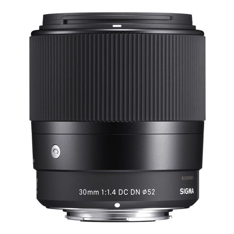 Sigma 30mm F1.4 DC DN | C Lens - Sony E-Mount