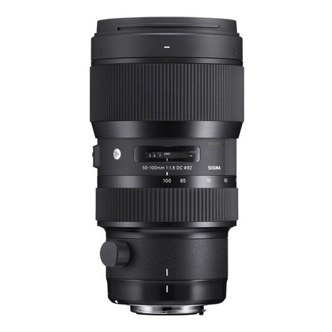 Sigma 50-100mm F1.8 DC HSM Art Lens - Canon Mount