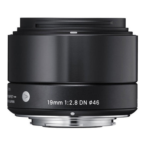 Sigma 19mm F2.8 DN | A Lens - Sony E-Mount - Black