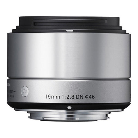 Sigma 19mm F2.8 DN | A Lens - Sony E-Mount - Silver