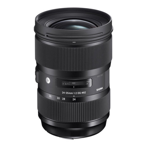 Sigma 24-35mm F2 DG HSM Art Lens - Canon Mount