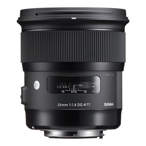 Sigma 24mm F1.4 DG HSM Art Lens - Nikon Mount