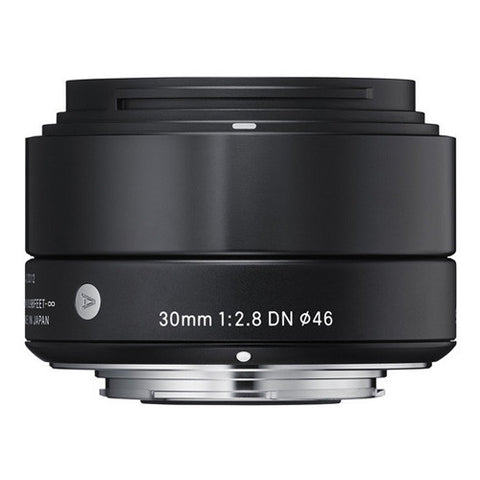 Sigma 30mm F2.8 DN | A Lens - Sony E-Mount - Black