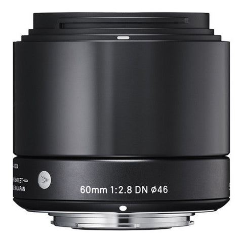 Sigma 60mm F2.8 DN Lens - Micro Four Thirds Mount - Black