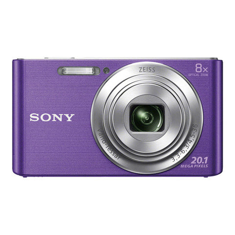 Sony Cyber-Shot DSC-W830 Digital Camera - Violet
