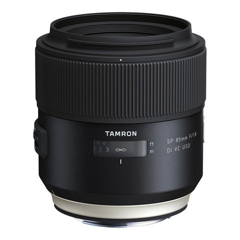 Tamron SP 85mm F/1.8 Di VC USD Lens - Canon Mount