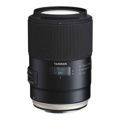 Tamron SP 90mm F/2.8 Di MACRO 1:1 VC USD Lens - Canon Mount