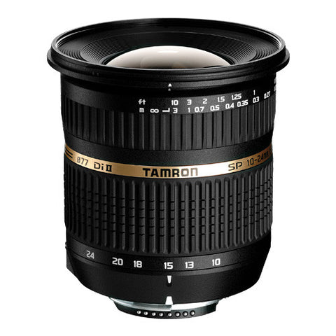 Tamron SP AF 10-24mm F/3.5-4.5 Di II Lens for Pentax - B001