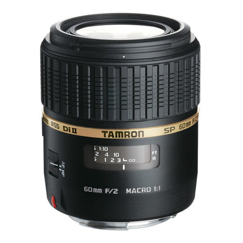 Tamron SP AF 60mm F/2 Di II LD [IF] Macro 1:1 Lens - Canon Mount