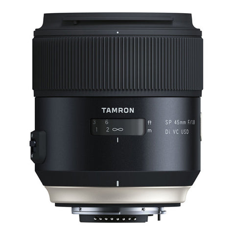 Tamron SP AF 45mm F/1.8 DI VC USD Lens - Canon Mount
