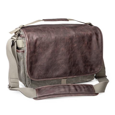 Think Tank Photo Retrospective Leather 30 Messenger Bag - Pinestone