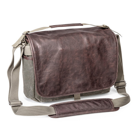 Think Tank Photo Retrospective Leather 7 Messenger Bag - Pinestone